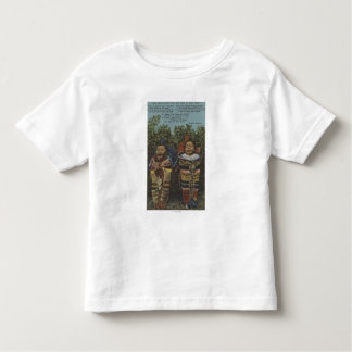 "Indian Twins in Papooses & ""Just Crying�"" Toddler T-shirt"