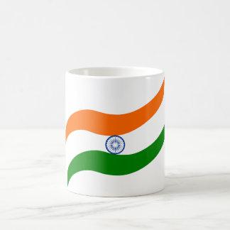 Indian undulating flag coffee mug