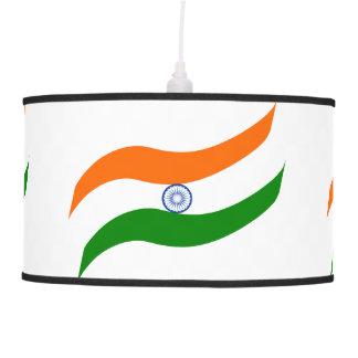 Indian undulating flag hanging lamp