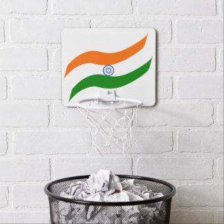 Indian undulating flag mini basketball backboard