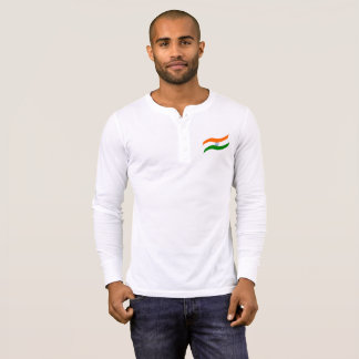 Indian undulating flag T-Shirt
