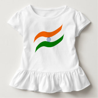 Indian undulating flag toddler t-shirt