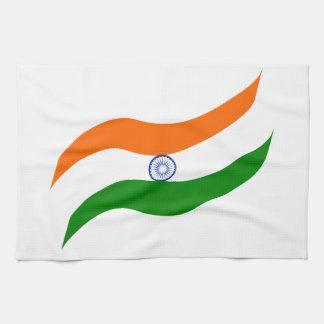 Indian undulating flag towel