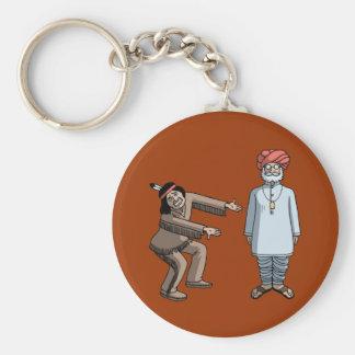 Indian v Indian Keychains
