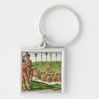 Indian Victory Ceremony, from 'Brevis Key Chain