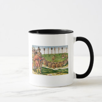 Indian Victory Ceremony, from 'Brevis Mug