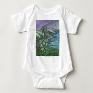 Indian village during the summer t-shirt