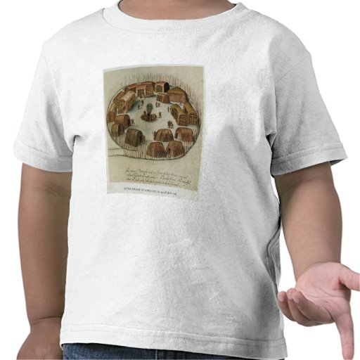 Indian Village of Pomeiooc Tee Shirt