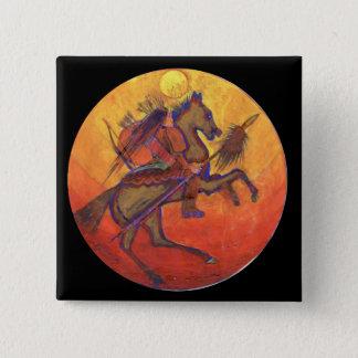 Indian Warrior colour - Indian button