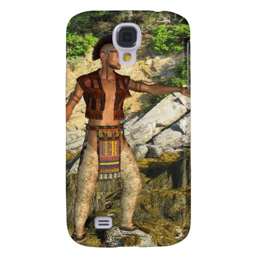 Indian Warrior Galaxy S4 Cases