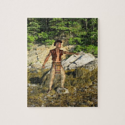Indian Warrior Jigsaw Puzzles