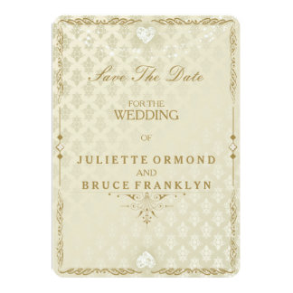Indian Wedding III - Save The Date Card