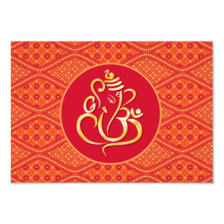 Indian Wedding RSVP Card