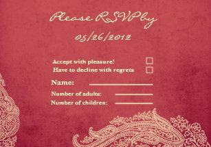 Mehndi Ceremony Cards : Mehndi invitations & announcements zazzle