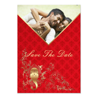 Indian Wedding - Save The Date Card