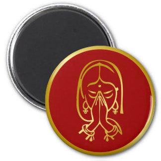 Indian Welcome Gesture - Namaskar Magnet
