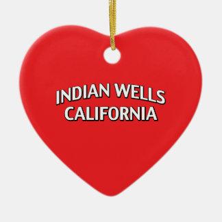 Indian Wells California Ceramic Ornament