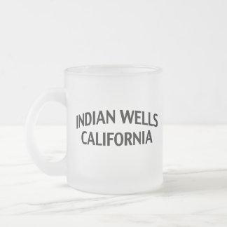 Indian Wells California Taza De Café Esmerilada