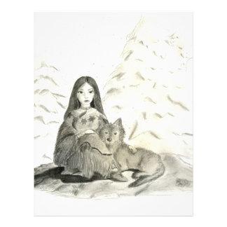 Indian Winter Customized Letterhead