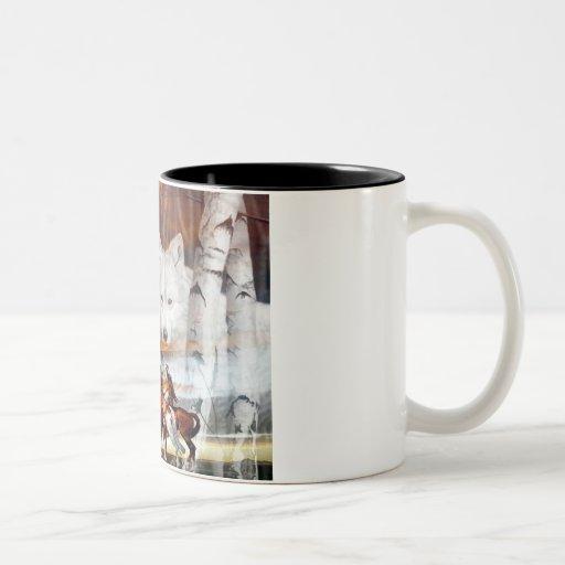 Indian Wolf Ghost Coffee Mug Zazzle