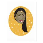 Indian Woman.ai Postcard