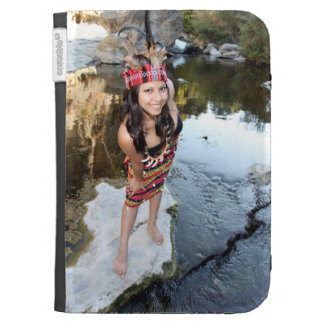 Indian Woman Kindle 3G Covers