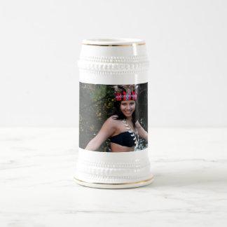 Indian Woman Dancing Beer Stein