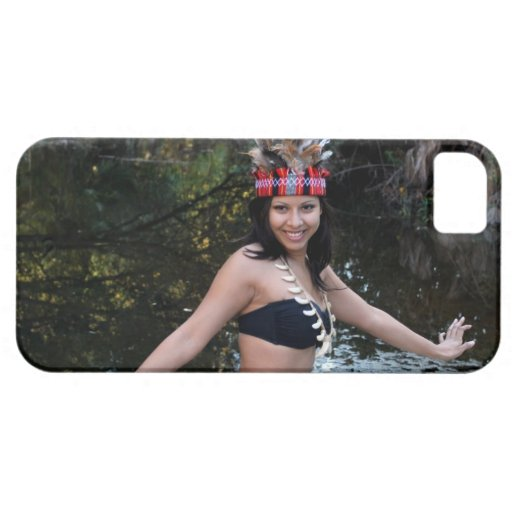 Indian Woman Dancing iPhone 5 Covers