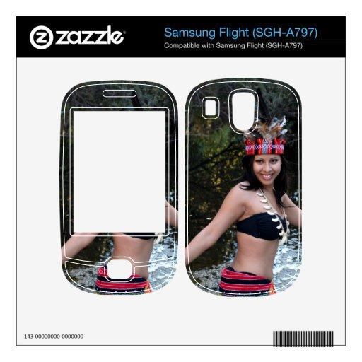 Indian Woman Dancing Skin For Samsung Flight