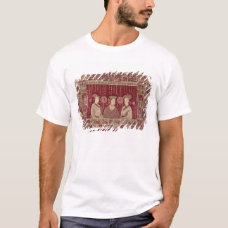 Indian woman with European traders, Madras T-Shirt