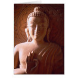 Indian Wooden Carving of Buddha Cards