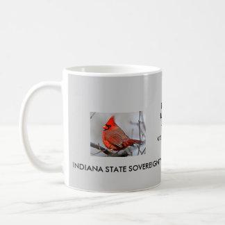 iNDIANA 10TH AMMEMDMENT CUP Classic White Coffee Mug