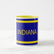Indiana 11 oz Two-Tone Mug