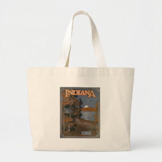 Indiana-1-lrg Large Tote Bag