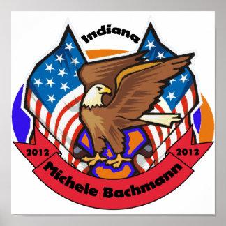 Indiana 2012 para Micaela Bachmann Poster