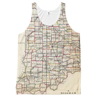 Indiana 2 All-Over-Print tank top