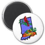 Indiana 2 Inch Round Magnet
