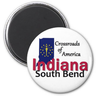 INDIANA 2 INCH ROUND MAGNET