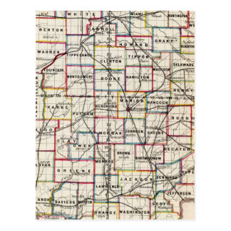 Indiana 2 postcard