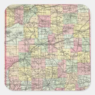 Indiana 2 square sticker
