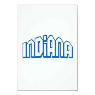 Indiana 3.5x5 Paper Invitation Card