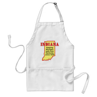 Indiana Adult Apron