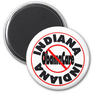 Indiana Anti ObamaCare – November's Coming! 2 Inch Round Magnet