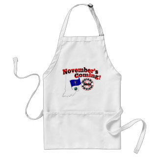 Indiana Anti ObamaCare – November's Coming! Adult Apron