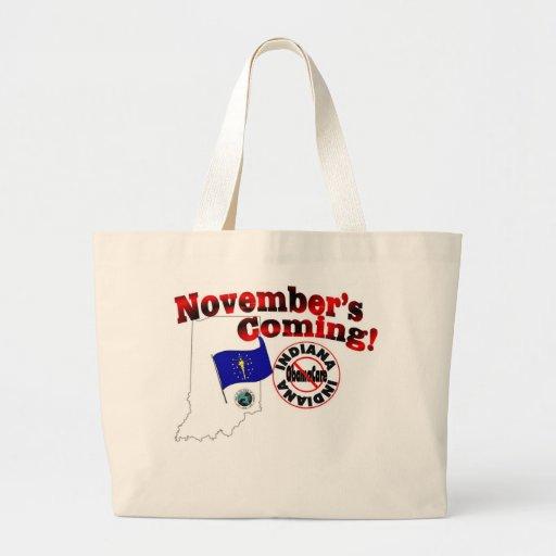 Indiana Anti ObamaCare – November's Coming! Bags