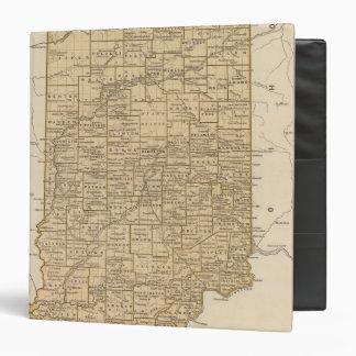 Indiana Atlas Map 3 Ring Binder