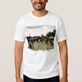 Indiana Ave Boardwalk, Atlantic City Vintage T Shirt