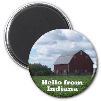 Indiana Barn Magnet