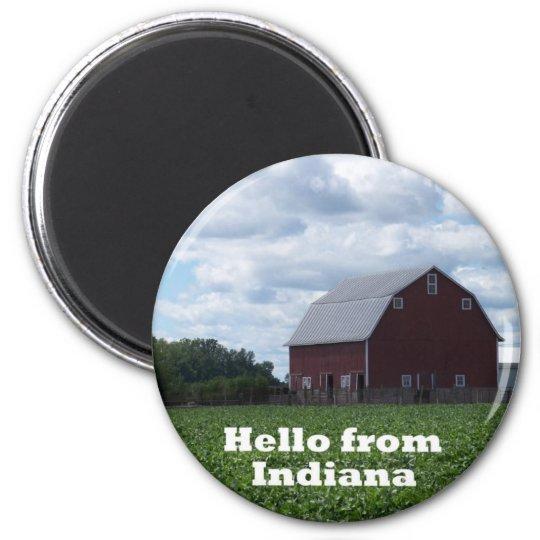 Indiana Barn Magnet