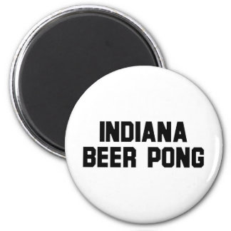 Indiana Beer Pong Magnet